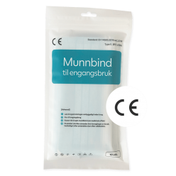 Munnbind type II pose 10 stk